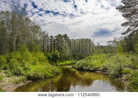 River Karakan Summer
