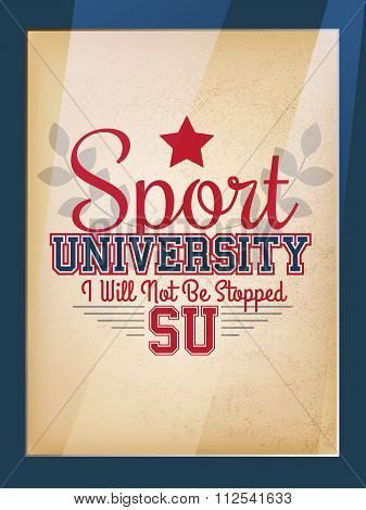 Sport Poster
