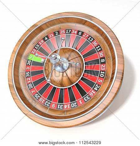 Roulette wheel. 3D render