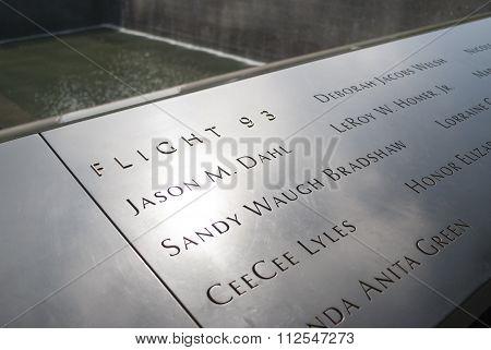 9/11 Memorial Flight 93