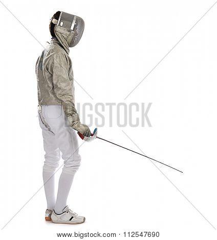 Foil Fencer Full Length