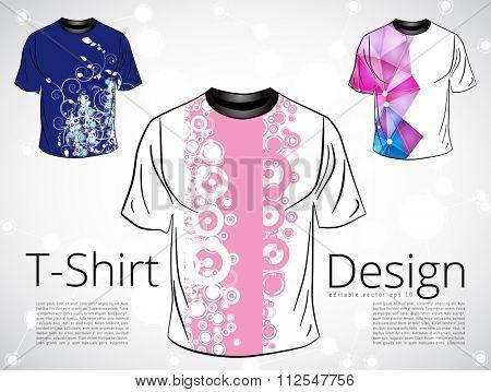 T-shirt. Vector