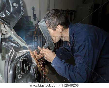 Welding Car