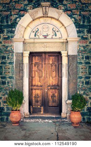 Orthodox Church Door