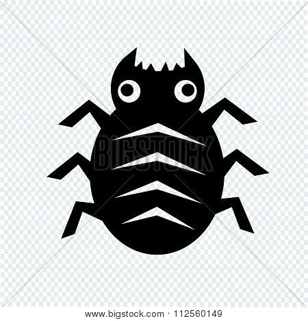 Cyber Bug Icon