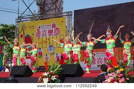 Children Perform A Traditional Chinese Dance