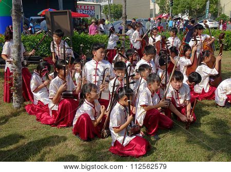 Young People Orchestra For Traditional Chinese Music