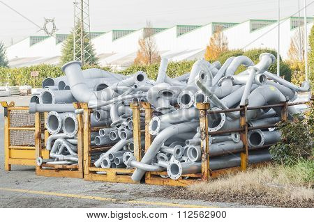 Flanged Steel Pipes