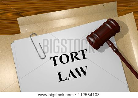 Tort Law Concept