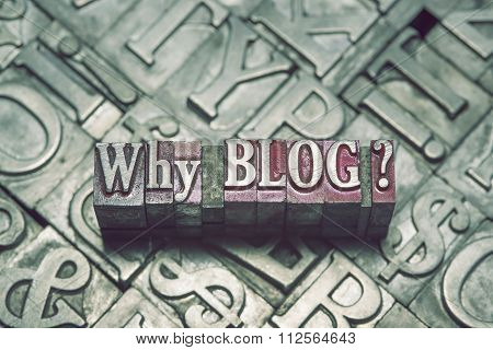 Why Blog Met