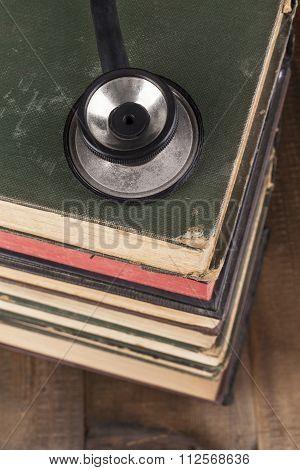 Black Stethoscope Closeup