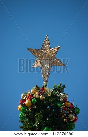 Rock Hill South Carolina Downtown During Christmas Season