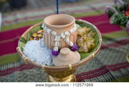 material to override the salt pot,Thai traditional medicicine