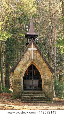 chappel in Beskydy mountains