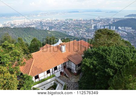 Luxury House On Top Penang Hill, Penang Malaysia