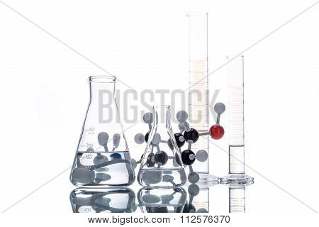 Molecular Structure And Beaker