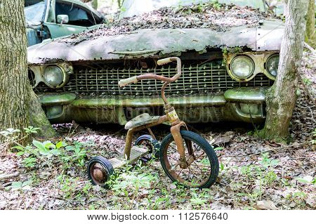 Tricycle By Cadillac