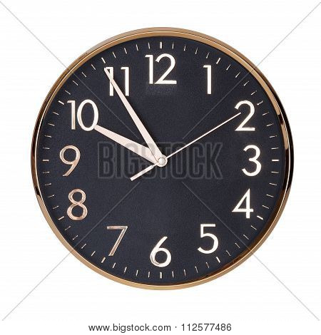 Five To Ten On A Clock Face
