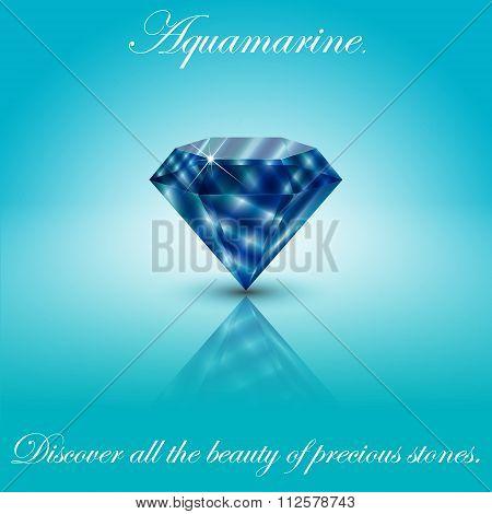 Aquamarine Gem 1