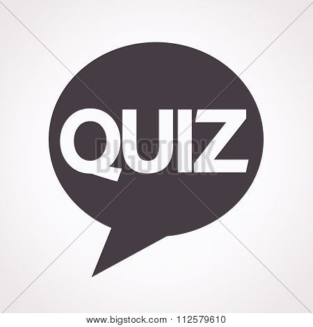 Quiz Speech Bubble Icon