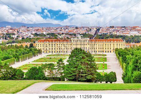 Upper Belvedere. Main Palace Complex Belvedere.vienna. Austria.