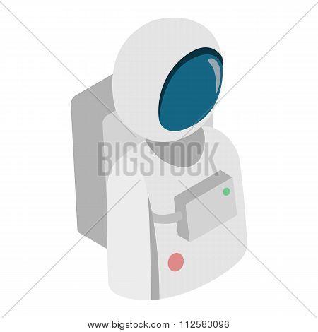 Astronaut isometric 3d icon