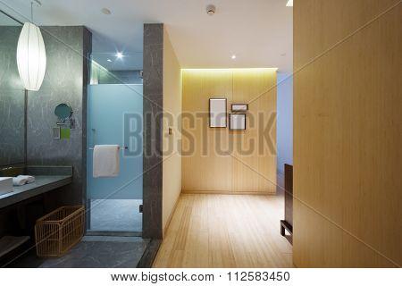 decoration land furniture of modern washroom