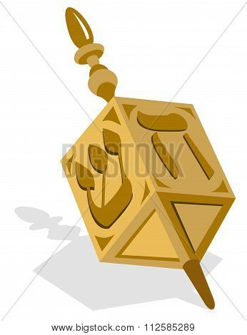 Golden Dreidel