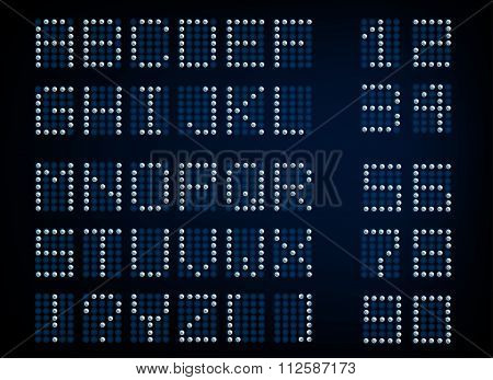 Digital Letters and Numerals