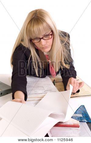 Business-Frau im Büro