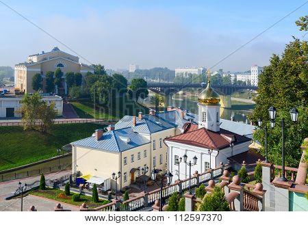 View From Uspenskaya Mountain To Vitebsk, Belarus