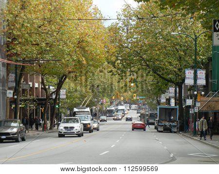 East Hastings Street