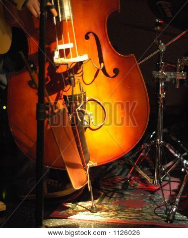 Upright Bass Geige