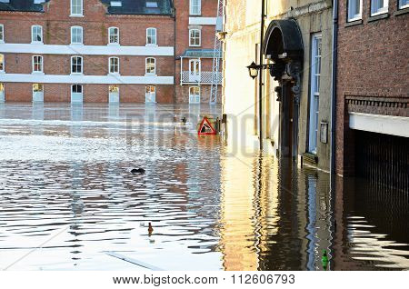 Floods In York........
