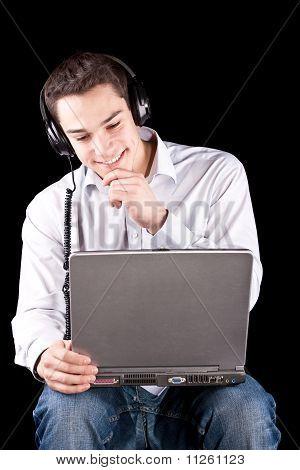 Enjoying Music From My Netbook