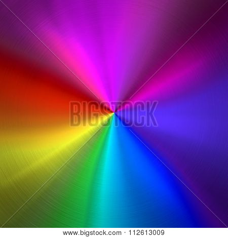 colorful metal plate background