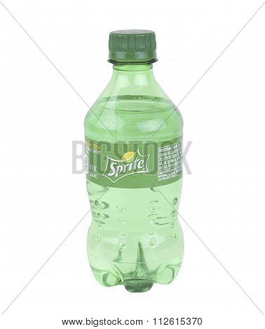 Bottle Of Sprite Soft Drink