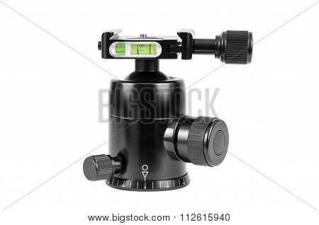 Modern Tripod Ball Head On White Background