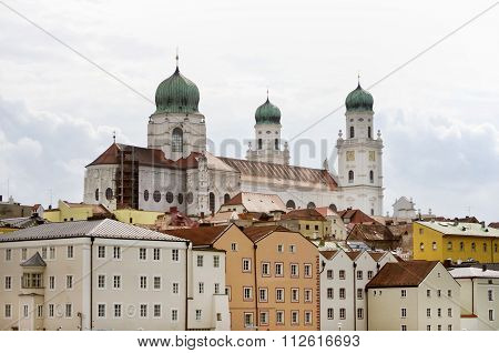 Germany Passau, Town In Lower Bavaria