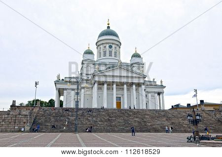 Cathedral Of St. Nicholas (cathedral Basilica) In Helsinki