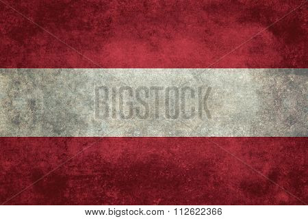 National Flag Of Austria Distressed Version