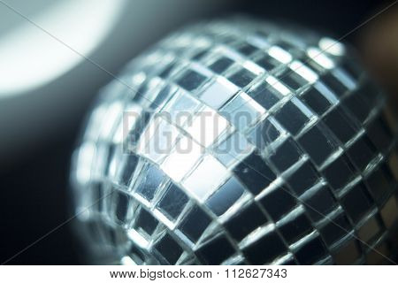 Disco Ball In Party Nightclub