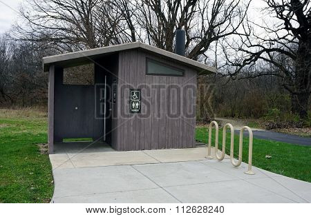 Hammel Woods Outhouse