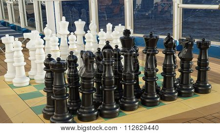 Chess on the Carnival Breeze