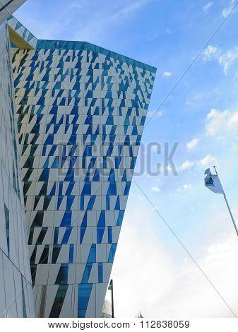 Futuristic Hotel Building