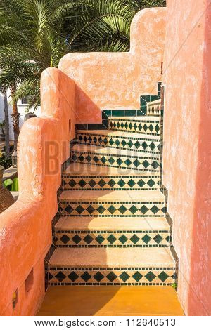 Stairway Morocco Style