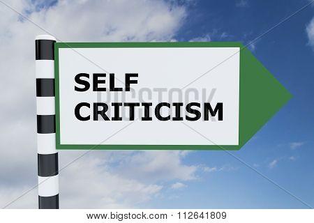 Self Criticism Concept