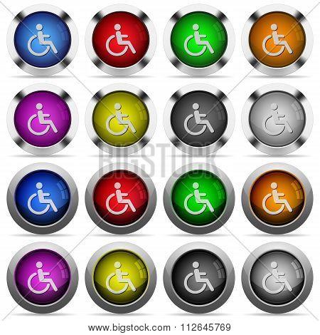 Disabilities Button Set