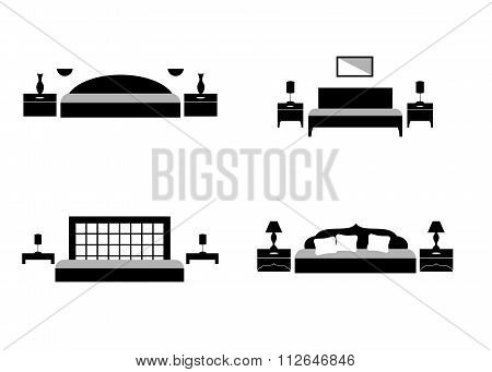 The Bedroom Set Black