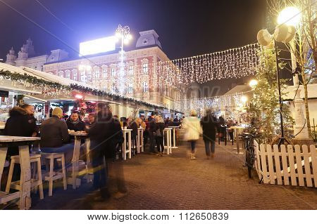 Advent Time On Jelacic Square